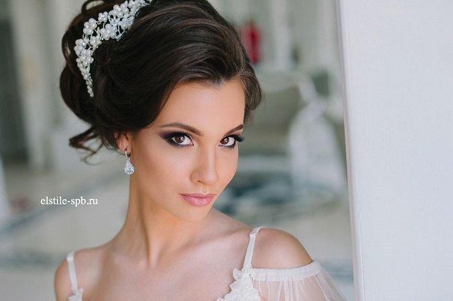 wedding hair and makeup looks idea 14