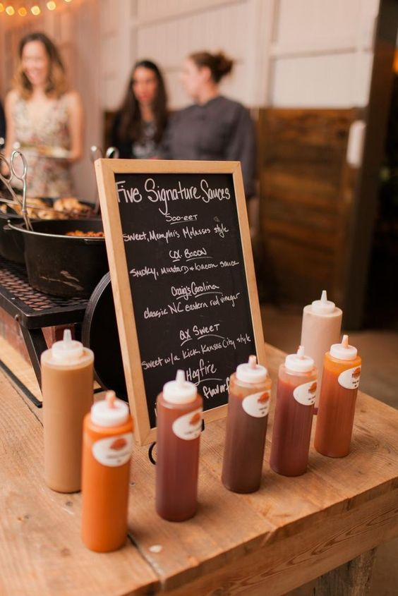 Top 25 Rustic Barbecue BBQ Wedding Ideas  Deer Pearl Flowers