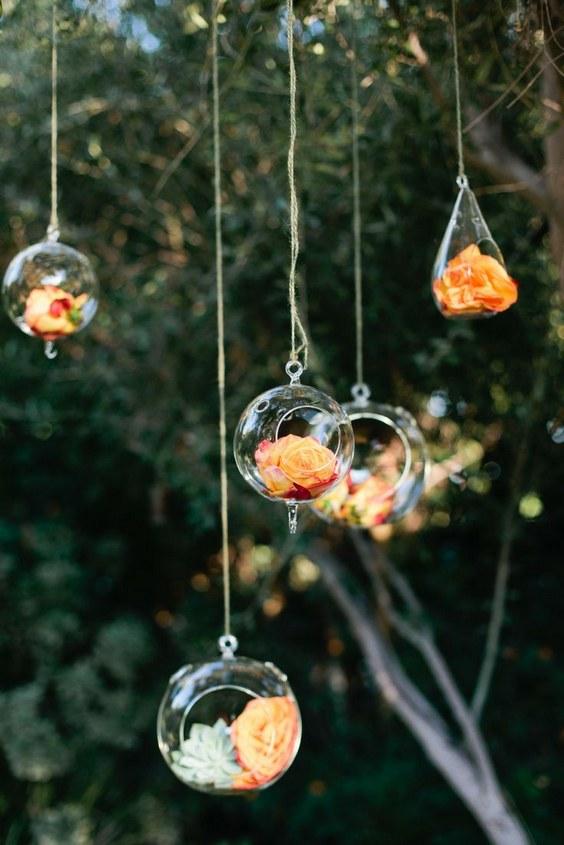 Trends We Love 40 Hanging Wedding Decor Ideas Deer Pearl Flowers