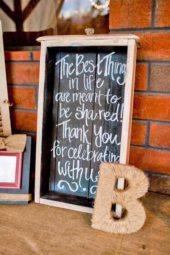 30 Rustic Wedding Signs  Ideas for Weddings  Deer Pearl
