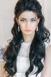 long wavy wedding hairstyles 4