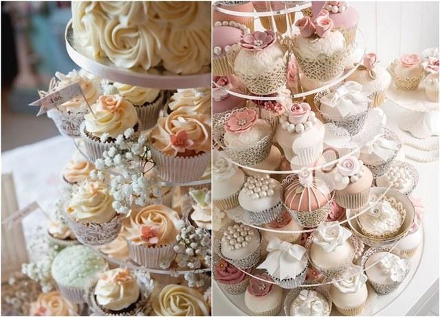 mini wedding cake wedding cupcakes