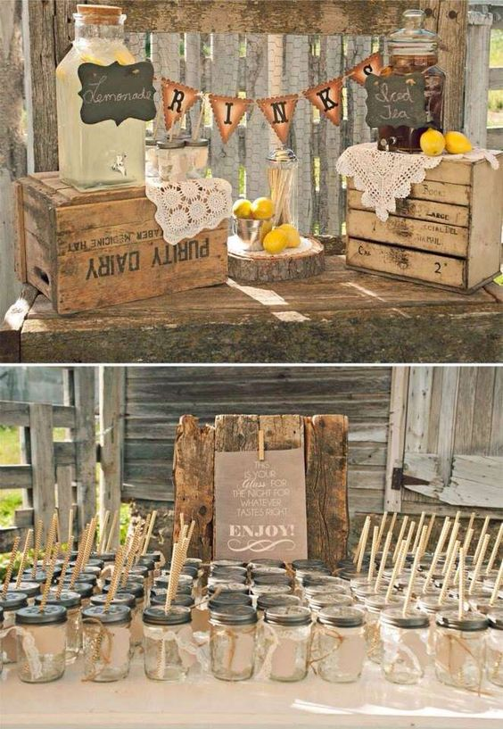 60 Rustic Country Wooden Crates Wedding Ideas  Deer Pearl Flowers  Part 3