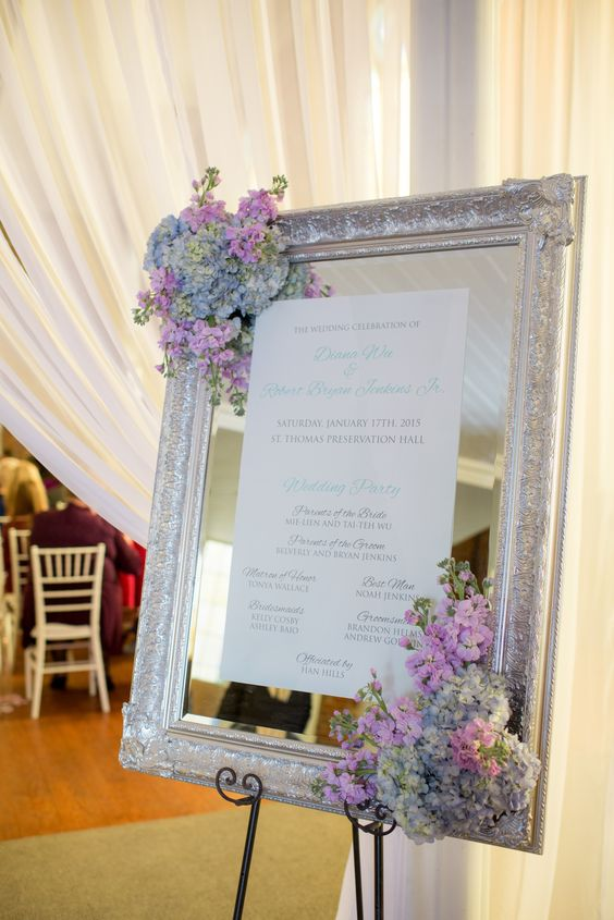35 Vintage Frames Wedding Decor Ideas  Deer Pearl Flowers