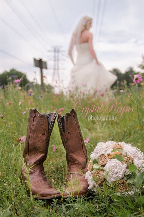 40 Rustic Country Cowgirl Boots Fall Wedding Ideas Deer Pearl Flowers Part 2