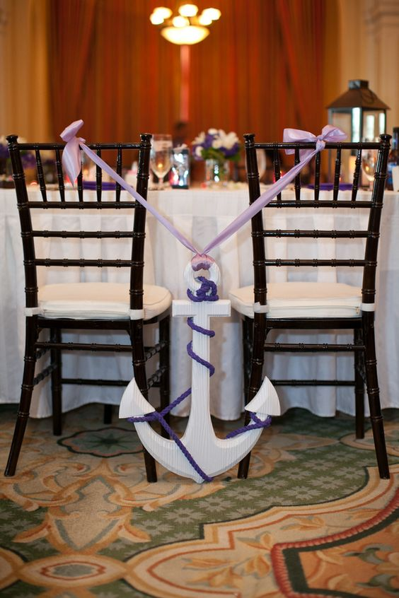 20 Ideas To Incorporate Anchors Into Your Nautical Wedding