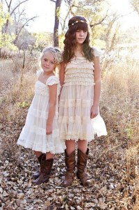 20 Flower Girl Dresses For Country Weddings | Deer Pearl ...