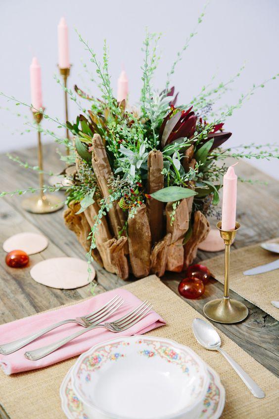 40 Rustic Driftwood Wedding Ideas We Love Right Now  Deer Pearl Flowers