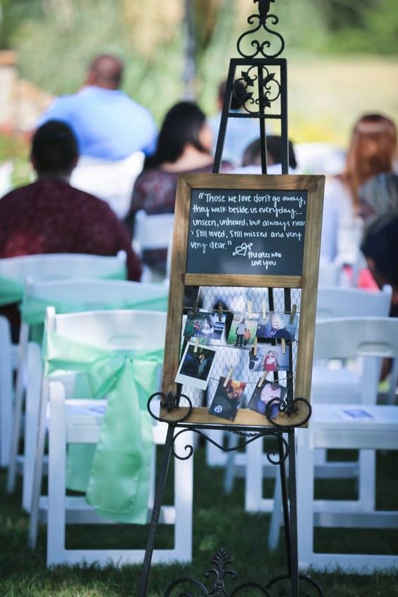 20 Unique Ways to Honor Deceased Loved Ones at Your Wedding  Deer Pearl Flowers