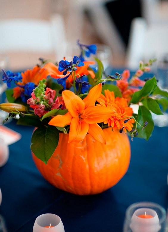 40 Cheerful Fall Orange Wedding Ideas Deer Pearl Flowers