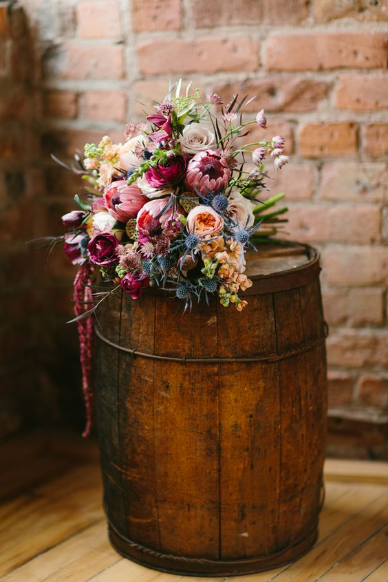 30 Burgundy and Blush Fall Wedding Ideas  Deer Pearl Flowers  Part 2