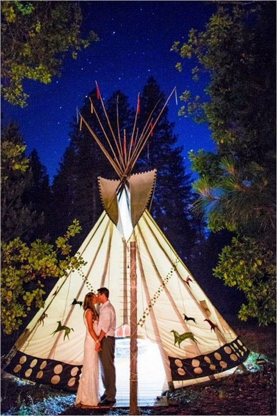28 Whimsical Bohemian Teepee Wedding Details  Deer Pearl Flowers