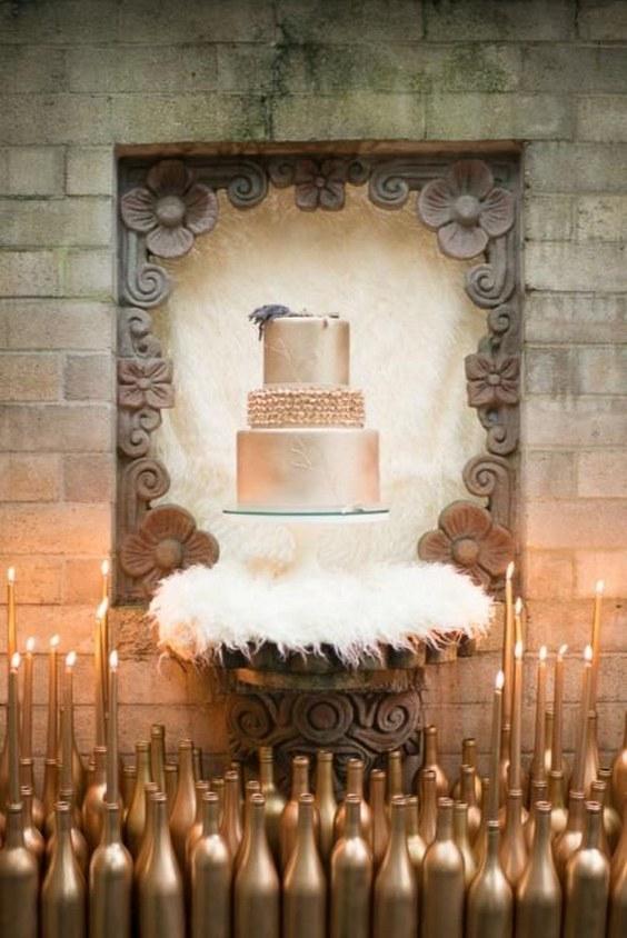 high chair deer stand jaxx bean bag chairs 20 cool faux fur winter wedding ideas | pearl flowers - part 2