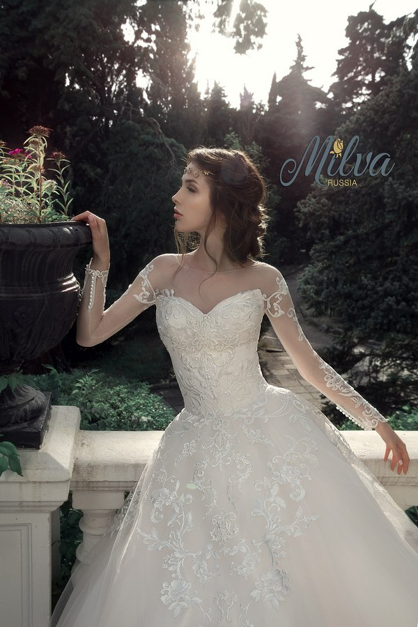 Milva Bridal Wedding Dresses 2017 Leontia