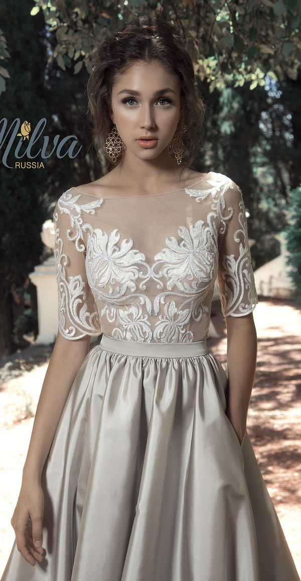 Milva Bridal Wedding Dresses 2017 SorrentobodyskirtSorrento