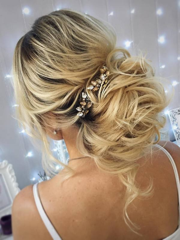 60 Wedding Hairstyles for Long Hair from Tonyastylist  Deer Pearl Flowers  Part 2