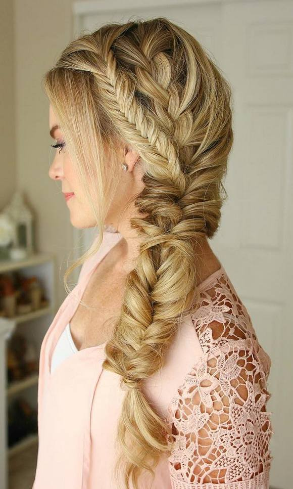 30 Prom Hairstyles Side Braid Flower Hairstyles Ideas Walk The