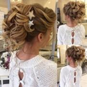 long bridesmaid hair & bridal