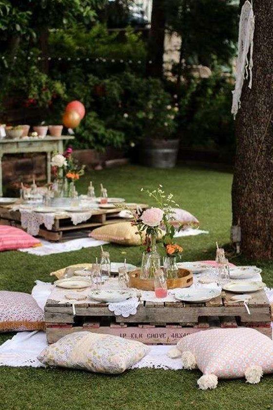 25 Fun Outdoor Picnic Wedding Ideas To Copy Deer Pearl Flowers