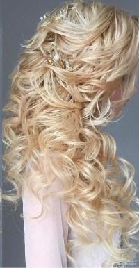40 Best Wedding Hairstyles For Long Hair | Deer Pearl ...