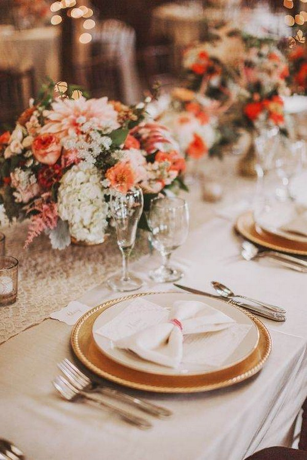 Top 4 Fall Wedding Color Combos to Steal  Deer Pearl Flowers