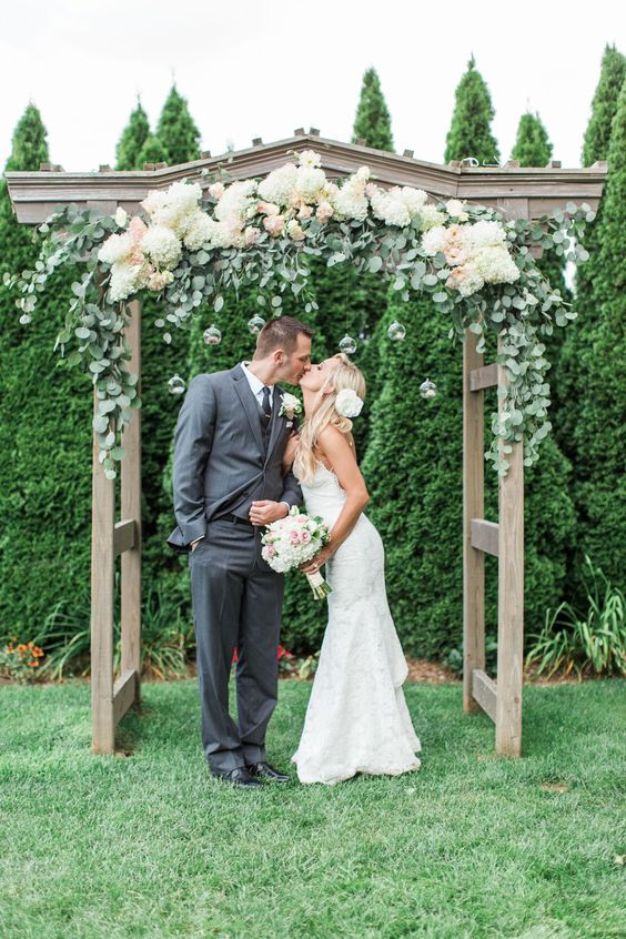 Top 20 Floral Wedding Arch Canopy Ideas Deer Pearl Flowers
