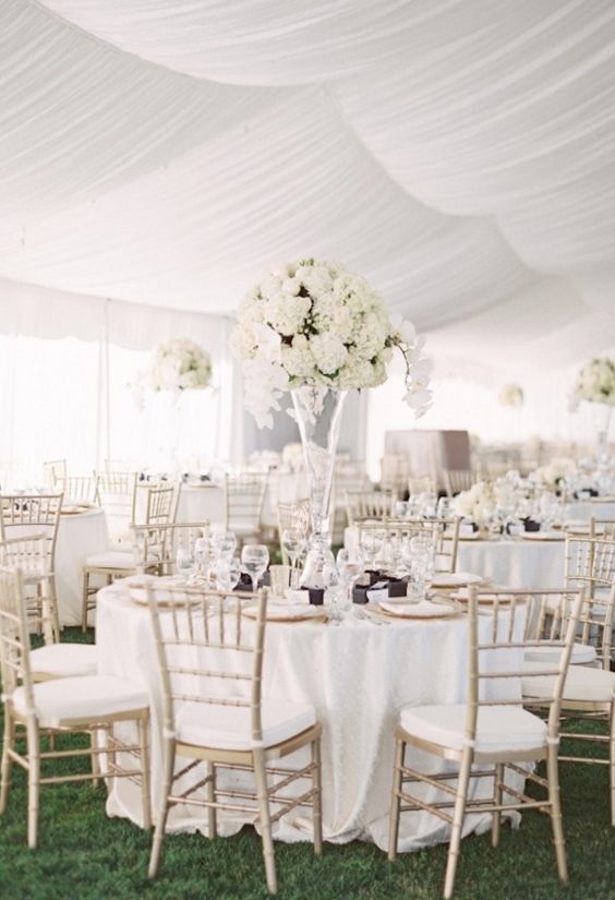 30 White Wedding Ideas Thats Turly Timeless  Deer Pearl