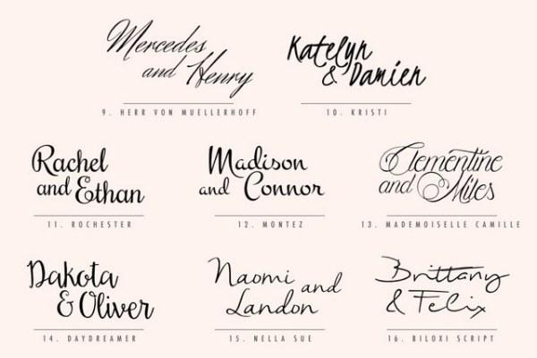 free wedding fonts # 34