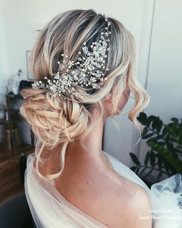 Top 20 Long Wedding Hairstyles from Cara Clyne  Deer