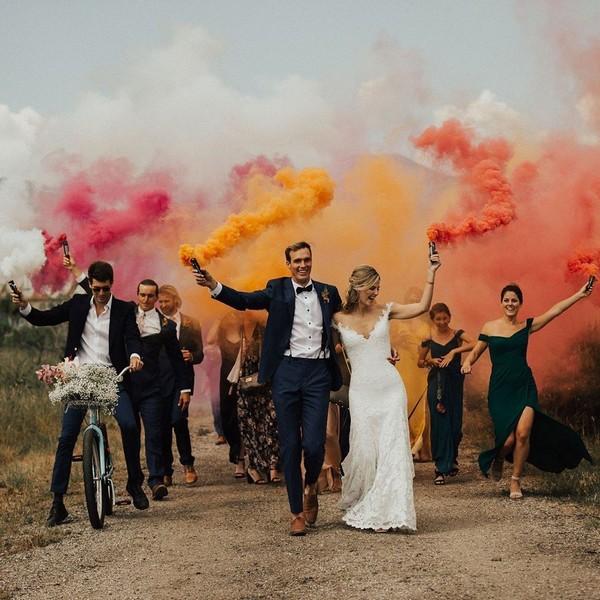 Wedding Photo Ideas with Bridesmaids and Groomsmen