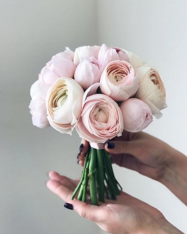 blush pink roses wedding bouquet15