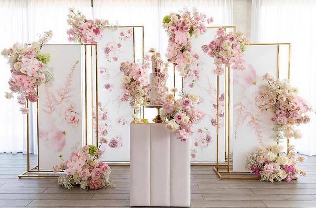 blush pink wedding backdrop2