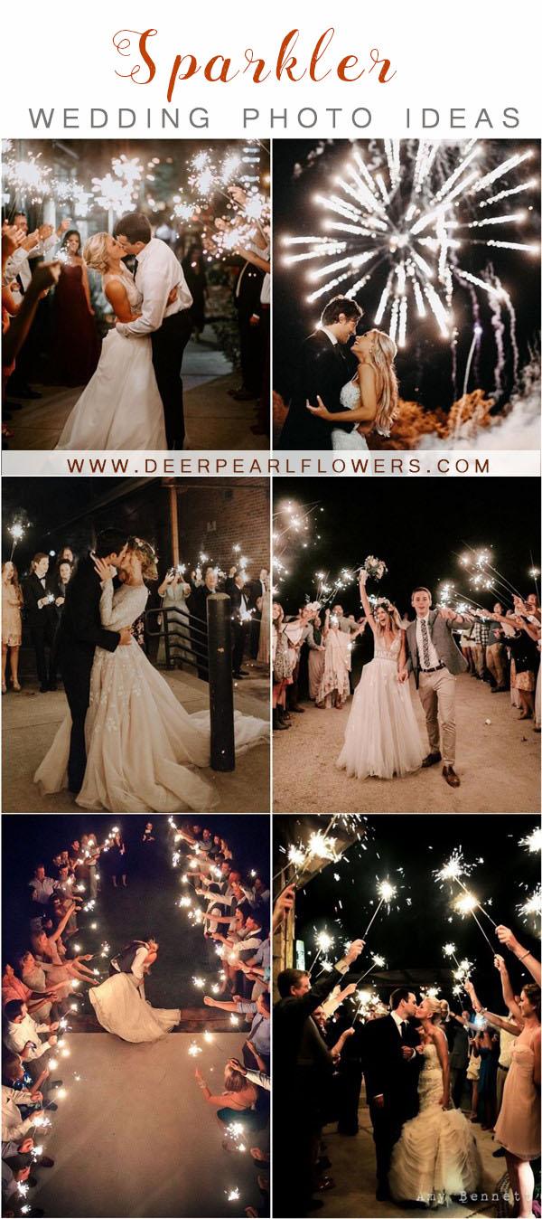 wedding photo idea- sparkler photo ideas tips