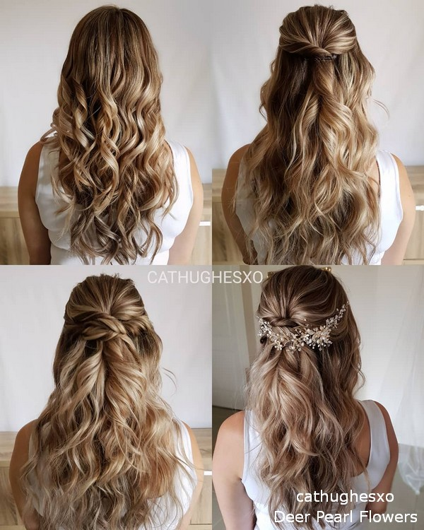 cathughesxo diy wedding hairstyle tutorial