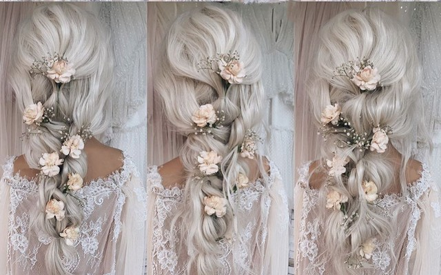 diy wedding hairstyle tutorial 1
