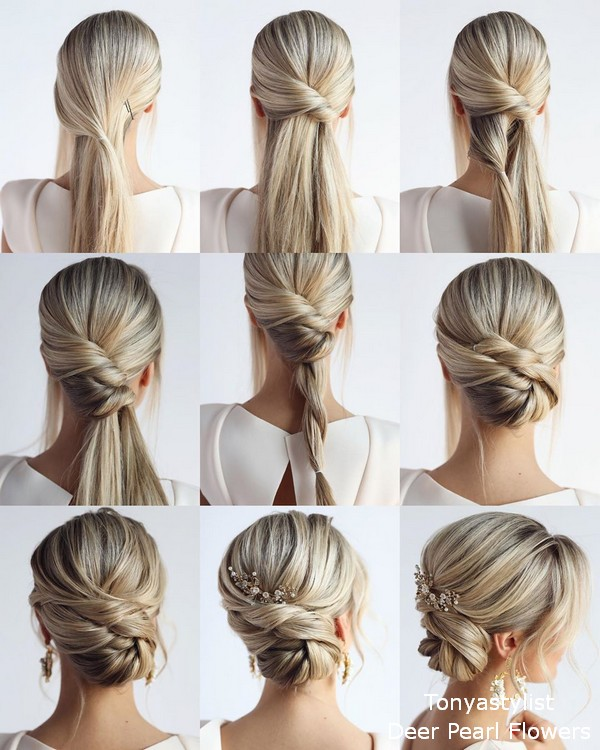 tonyastylist diy wedding hairstyle tutorial