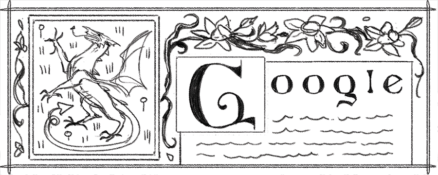 Google celebrates St David's Day with Welsh Triple Harp in