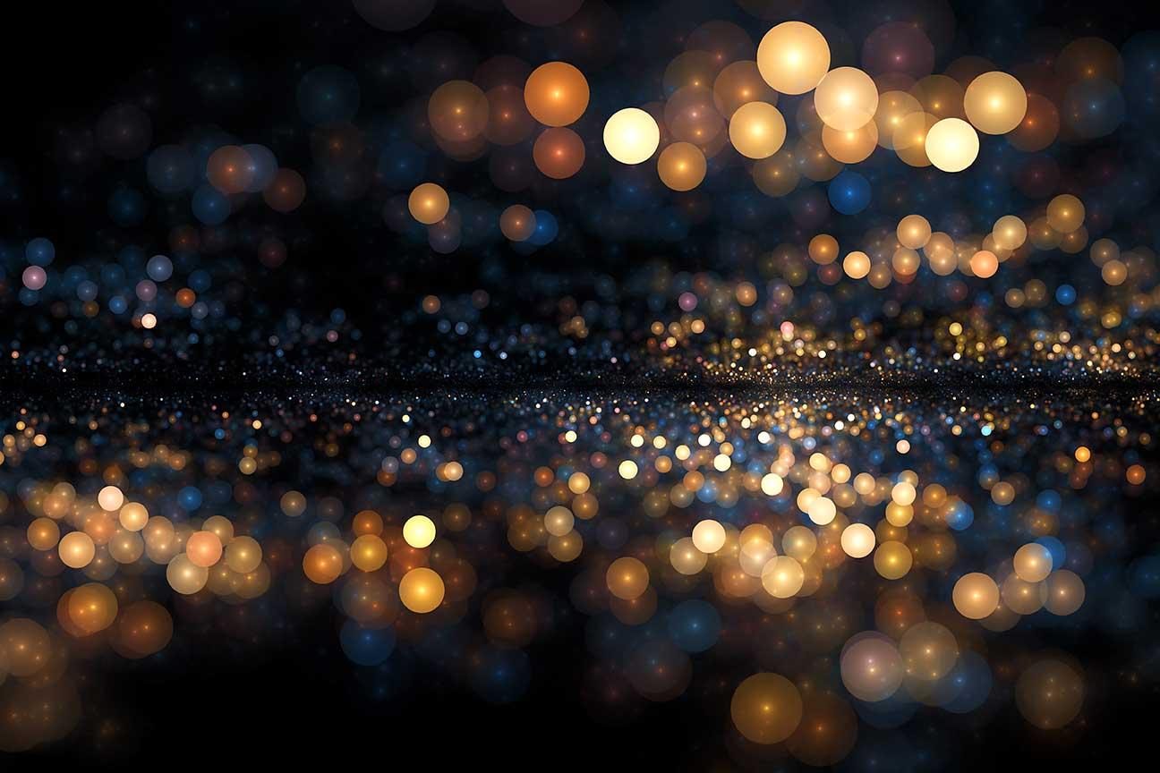 Fotobehang Lichtjes in de nacht  De Fabriek Muurstickers