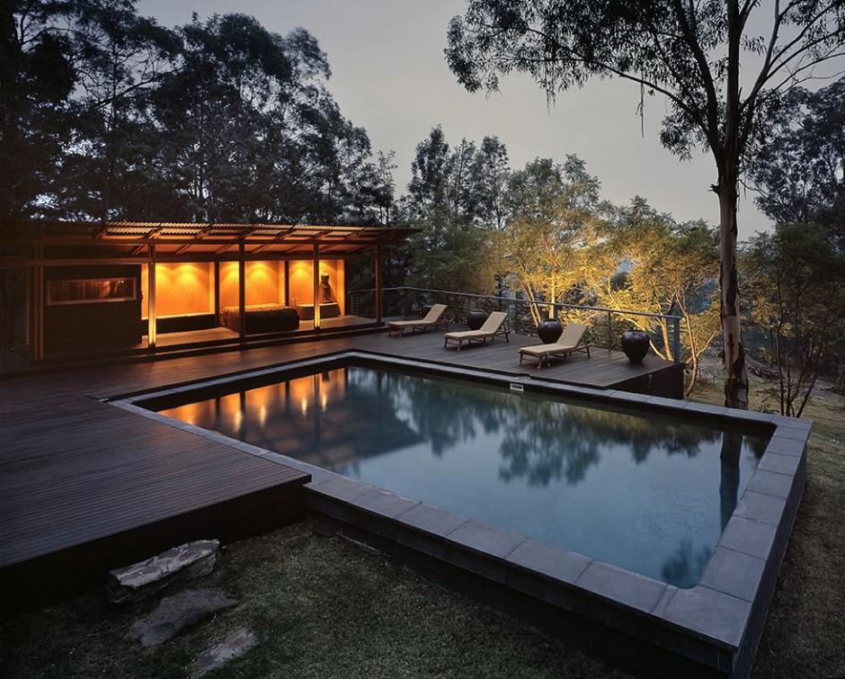 Casa Moderna Estilo Asiatico o Zen  Fachadas de Casas  Fotos de Casas