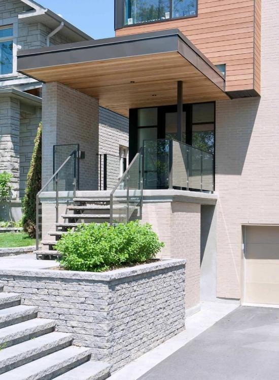 Fantstica casa moderna de dos plantas  Fachadas de Casas  Fotos de Casas