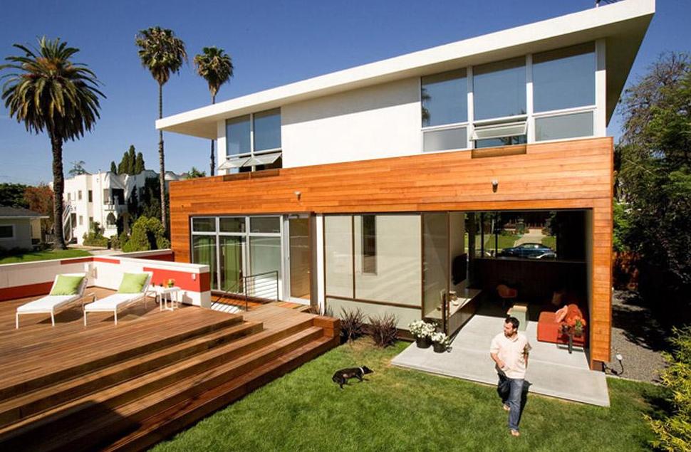 Casas modernas de madera  Fachadas de Casas  Fotos de Casas