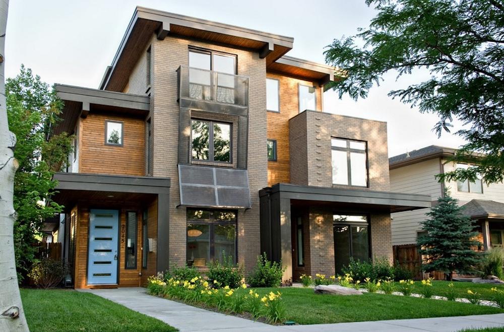 Casas sostenibles y modernas  Fachadas de Casas  Fotos