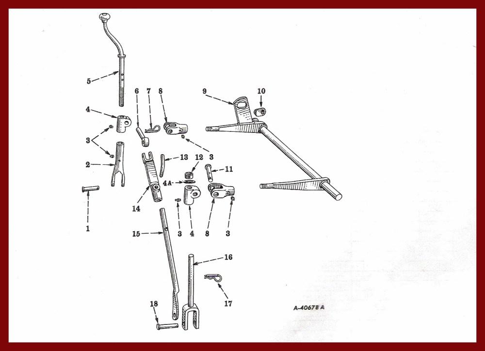 medium resolution of farmall cub drawbar fasthitch manual lift farmall cub drawbar diagram
