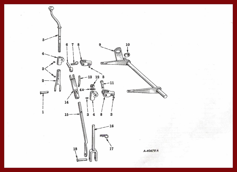 hight resolution of farmall cub drawbar fasthitch manual lift farmall cub drawbar diagram