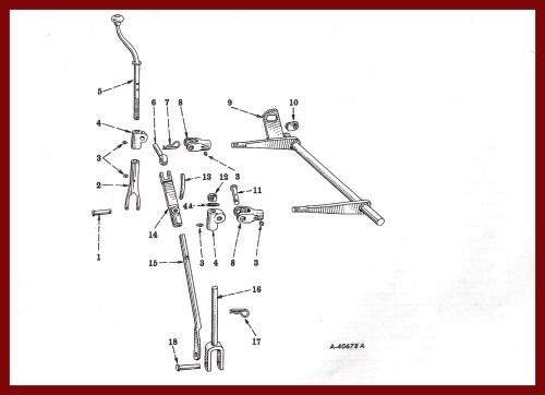 small resolution of farmall cub drawbar fasthitch manual lift farmall cub drawbar diagram