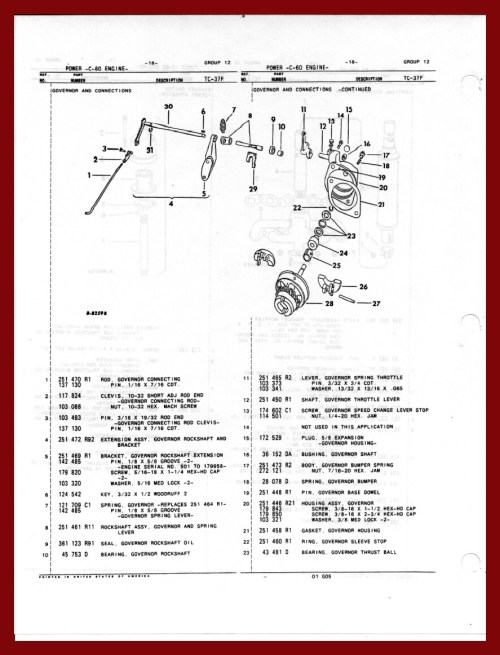small resolution of farmall cub governor parts rh defarmallcubs com 1951 farmall cub wiring diagram farmall cub wiring