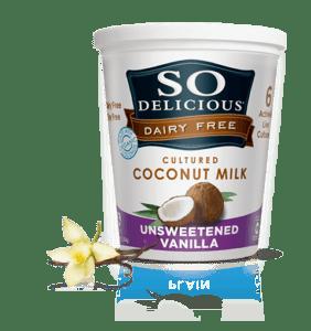 So Delicious Dairy Free Yogurt Alternativehttp://sodeliciousdairyfree.com/