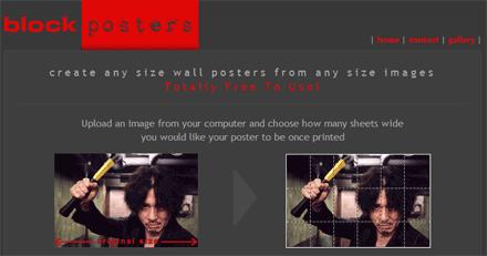 block posters crea poster da immagini