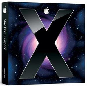 apple mac osx leopard box