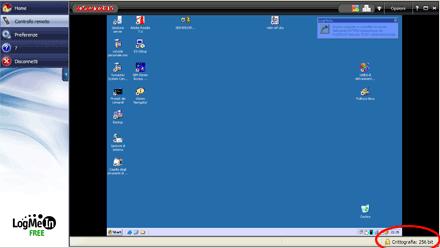 logmein accesso remoto screenshot